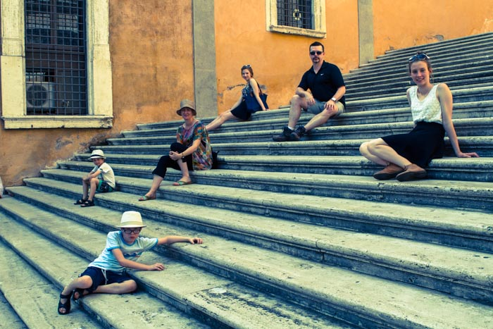 Diane Epstein Capturing a Family on a Photo Journey in Rome